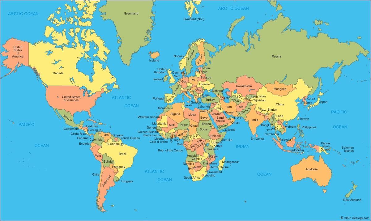 Weltkarte Zu Kanada Kanada Karte Weltkarte Nord Amerika