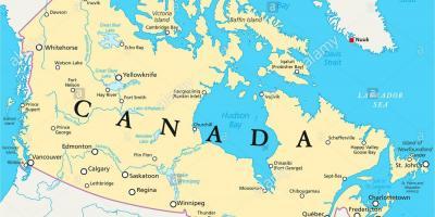Karte Von Florida Westkuste.Kanada Map Karten Von Kanada Nordamerika Und Sudamerika